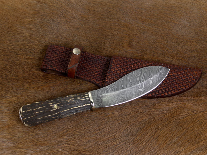 Nessmuk Knife with Antler Handle